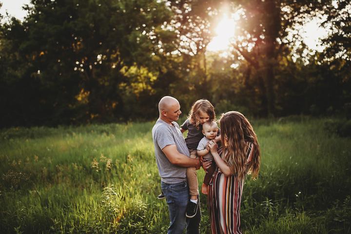 family photography in Kalamazoo MI vacation session
