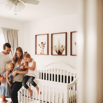 Kalamazoo In-Home Lifestyle Newborn Sessions